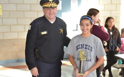 Grade Schoolers Take On Chicago Cops